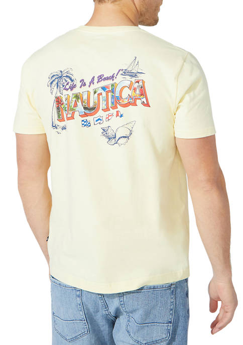 Nautica Postcard Graphic T-Shirt