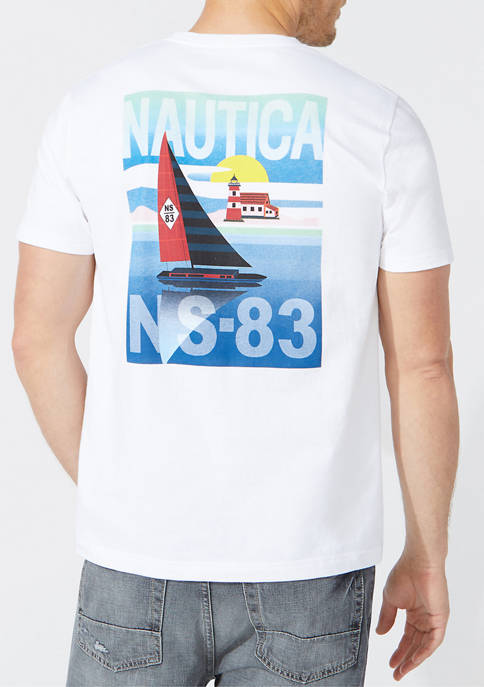 NS83 Boat Graphic T-Shirt