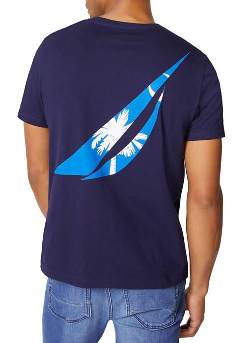 South Carolina Flag Graphic T-Shirt