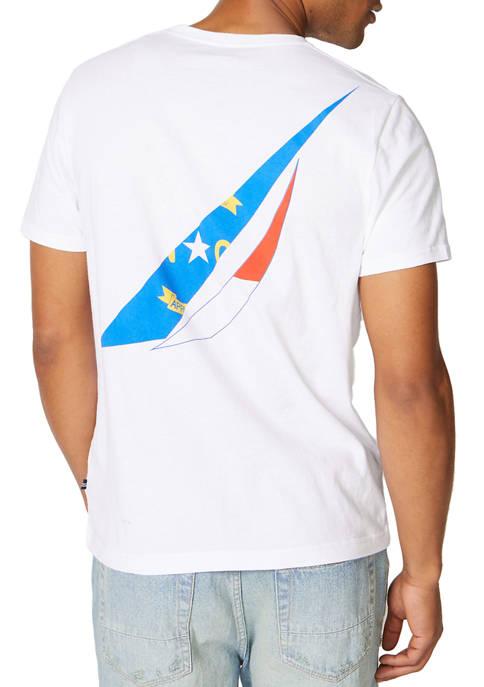Nautica North Carolina Flag Graphic T-Shirt