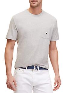 Short Sleeve Anchor Pocket T- Shirt