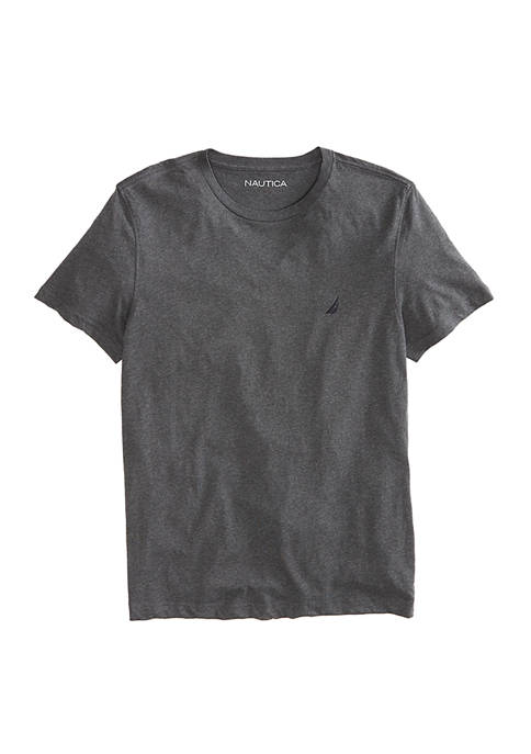 Short Sleeve Solid Cotton T-Shirt