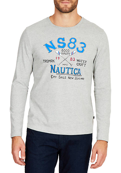 Nautica City Sails Crew Neck T-Shirt