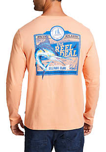 The Reel Deal Crew Neck Long Sleeve Tee