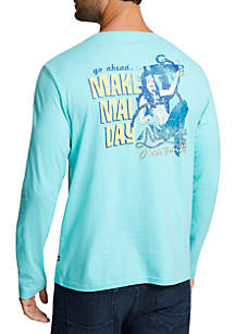 Nautica Outer Banks Long Sleeve Tee