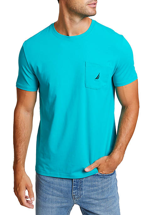 Nautica Pocket Crew Neck T-Shirt
