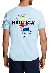 Nautica Regatta Series Short Sleeve T-Shirt