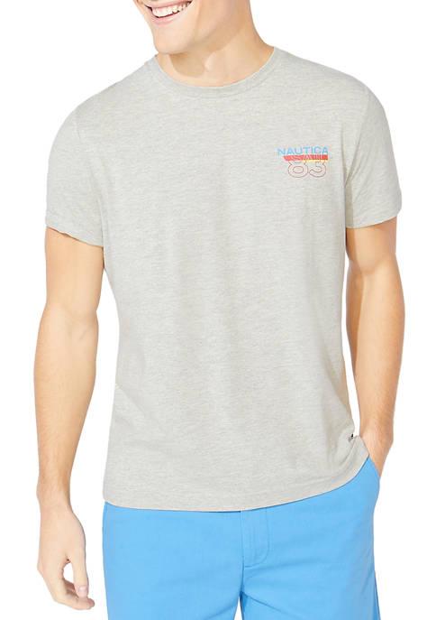 Nautica Logo Graphic Short Sleeve T-Shirt