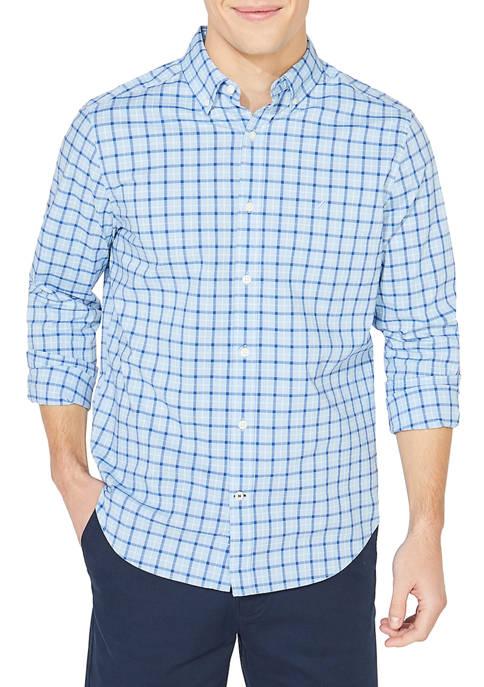 Navtech Plaid Button Down Shirt