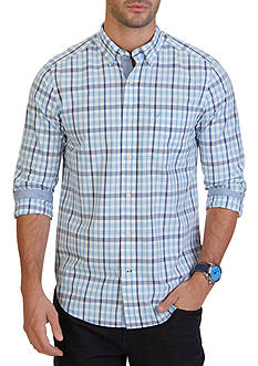Nautica Classic Fit Bright Plaid Shirt
