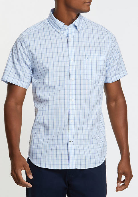 Classic Fit Stripe Woven Shirt