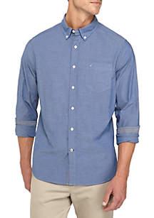 Nautica Classic Fit Stretch Cotton Shirt