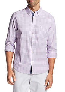 Nautica Classic Fit Oxford Gingham Button Down Shirt