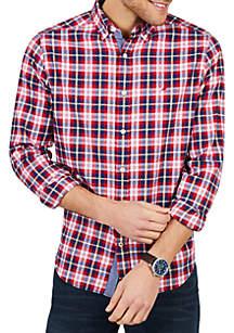4283b9ac9ca Nautica Buffalo Plaid Pajama Pants · Nautica Classic Fit Casual Long Sleeve  Brushed Twill Button Down Shirt