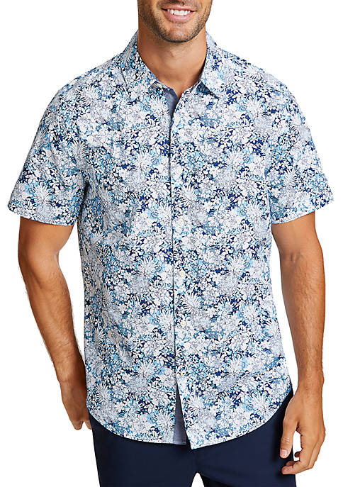 Nautica Pineapple and Floral Classic Fit Button Down