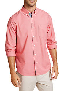7a7d3833897 Nautica Plaid Long Sleeve Classic Fit Button Down Shirt · Nautica Long  Sleeve Solid Classic Fit Button Down Shirt
