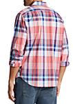 Long Sleeve Plaid Classic Fit Shirt