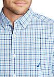 Gingham Long Sleeve Button Down Shirt