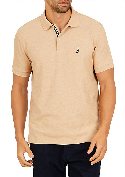 Nautica Big & Tall Stretch Pique Polo Shirt