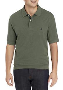 Big & Tall Stretch Pique Polo Shirt