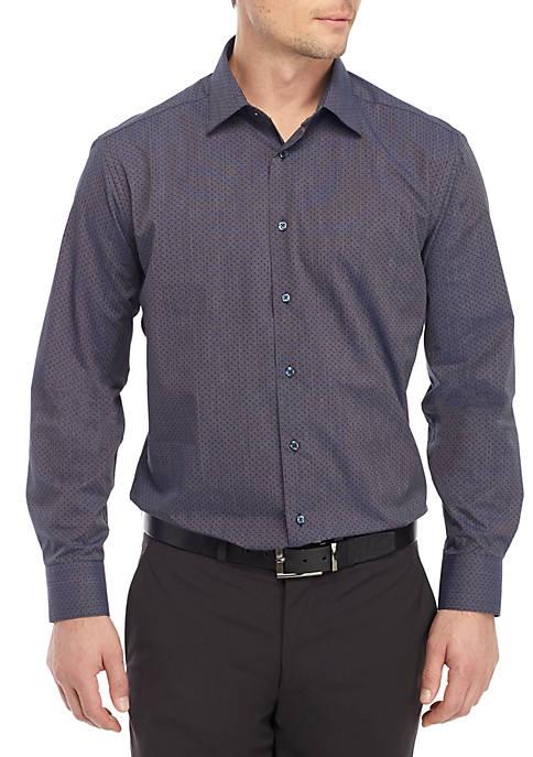 Slim Stretch Long Sleeve Dress Shirt