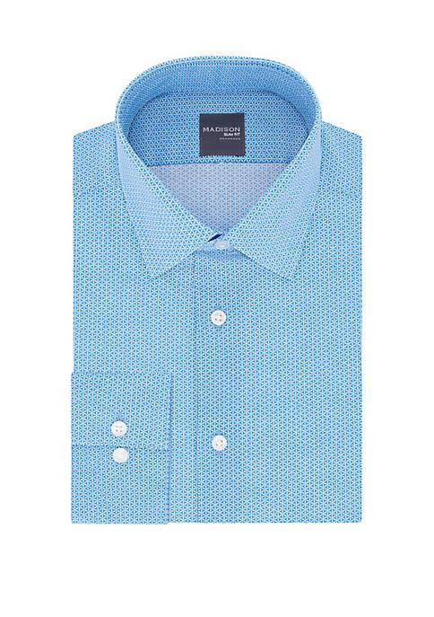 Madison Slim Fit Printed Dress Shirt