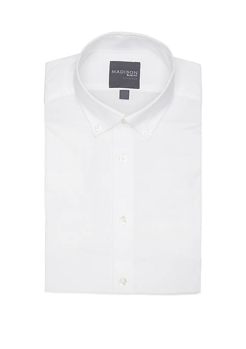 Madison Slim Fit Dynamic Cooling Stretch Dress Shirt
