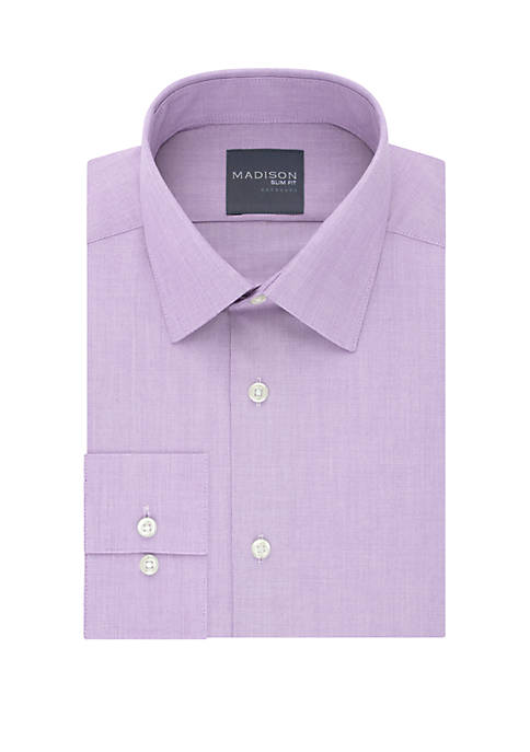 Slim Fit Dynamic Cooling Stretch Dress Shirt