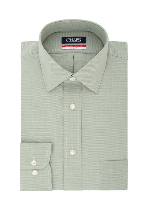 Chaps Regular Fit Wrinkle Free Dress Shirt