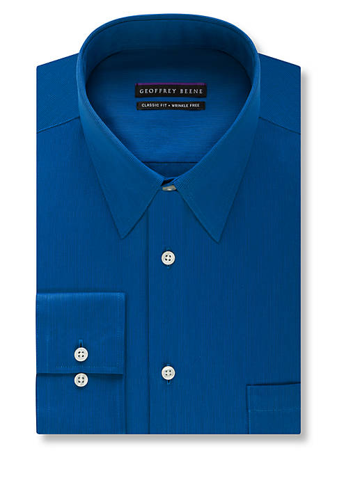 Big & Tall Non-Iron Fitted Dress Shirt