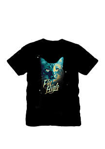 C-LIFE Captain Marvel Goose The Cat T Shirt