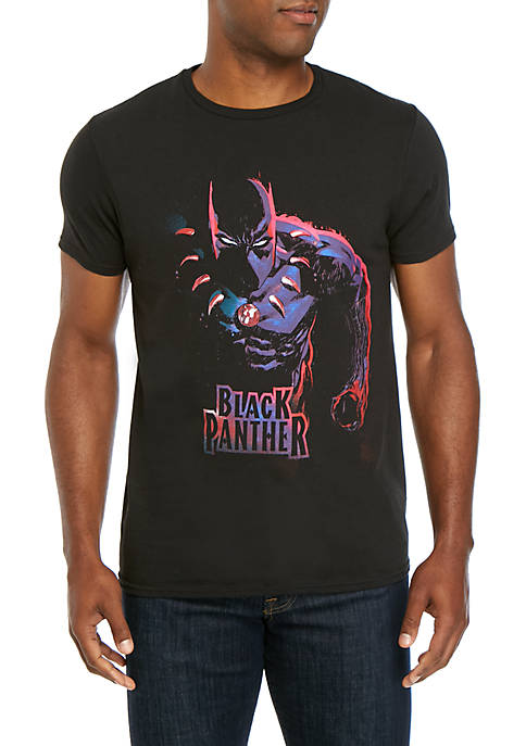 C-LIFE Black Panther Graphic T-Shirt
