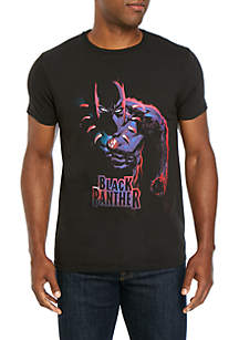 C-LIFE Black Panther Graphic T-Shirt