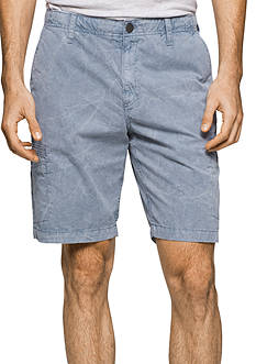 Calvin Klein Jeans Utility Pigment Multi-Stretch Flat Front Shorts