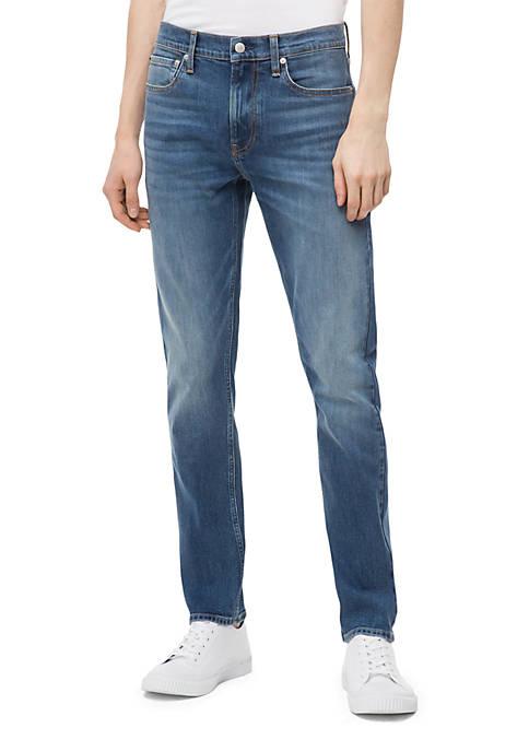 Slim Mid Blue Jeans