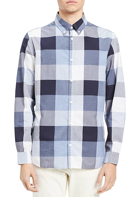 Calvin Klein Jeans Buffalo Grindle Check Button-Down Shirt