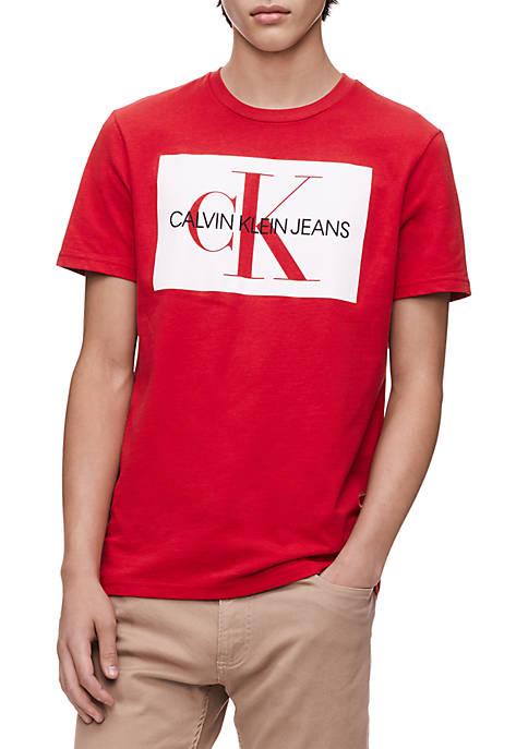 Short Sleeve Monogram Logo T-Shirt