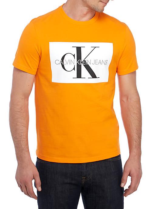 Calvin Klein Jeans Short Sleeve Monogram Logo T-Shirt