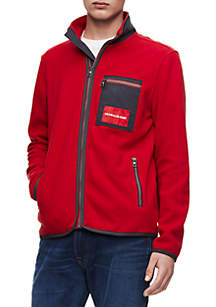 Calvin Klein Jeans Polar Zip Fleece Jacket