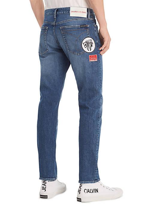 Calvin Klein Jeans Slim Medium Wash Jeans with
