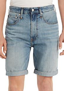 Calvin Klein Jeans Light Wash Rolled Shorts