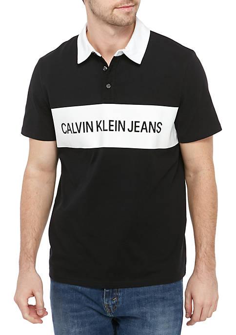 Calvin Klein Jeans Short Sleeve Knock Out Logo
