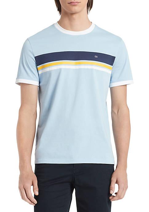 Calvin Klein Jeans Sport Chest Stripe Short Sleeve