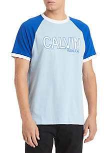 Calvin Klein Jeans Short Sleeve Athletic Logo Tee