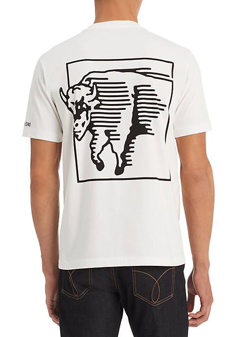 Calvin Klein Jeans Modern Bull Back Tee