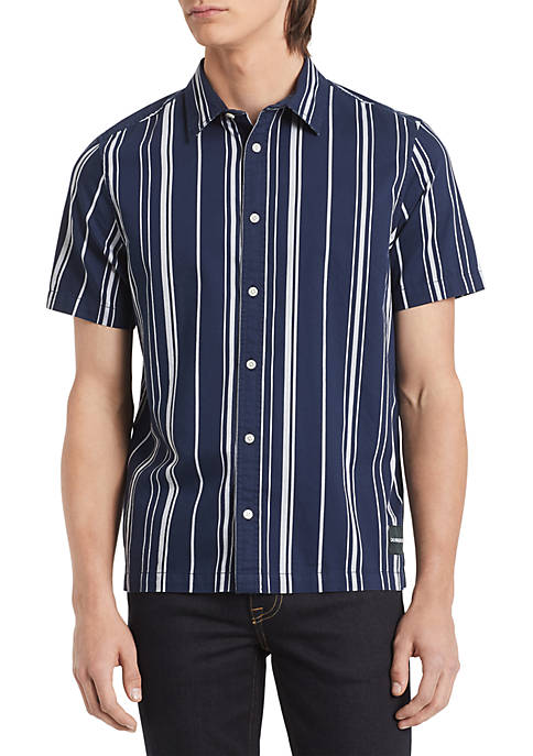 Calvin Klein Jeans Spaced Stripe Boxy Shirt