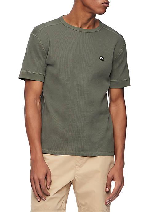 Waffle CK Badge T Shirt