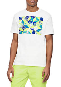 c52536a64b74 ... Calvin Klein Jeans Quilted Institutional Crew Neck T Shirt