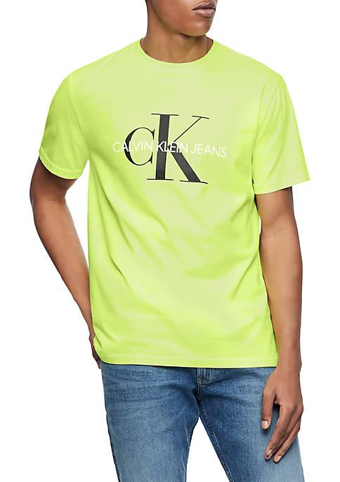 Calvin Klein Jeans Monogram Logo T Shirt