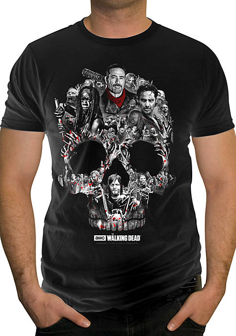 Changes Walking Dead Skull Head Tee